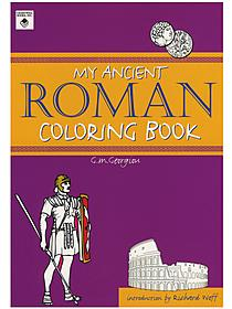 My Ancient Roman Coloring Book