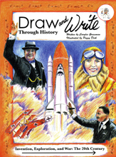 Draw and Write Through History: Invention, Exploration, and War