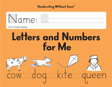 Handwriting Without Tears: Letters and Numbers for Me - Click Image to Close