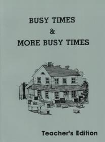Busy Times and More Busy Times Workbook Teacher Edition