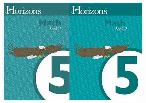 Horizons Math 5 Books 1 and 2 Student Set