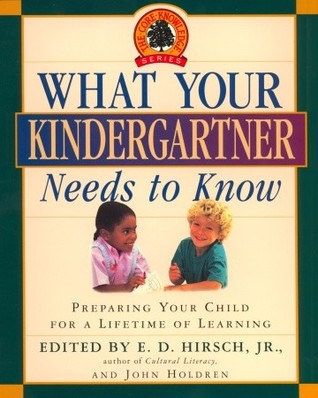 What Your Kindergartner Needs to Know - Click Image to Close