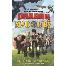 Mad Libs: How to Train Your Dragon