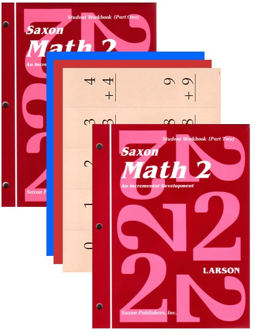 Saxon Math 2: Student Workbooks only