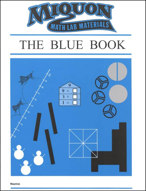Miquon Math: Blue Book