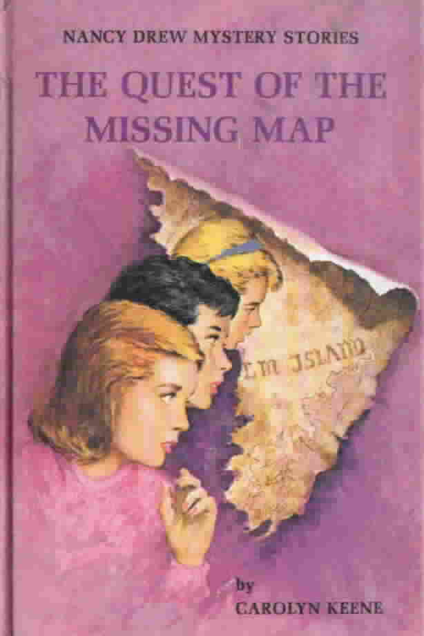 Nancy Drew #19: The Quest of the Missing Map