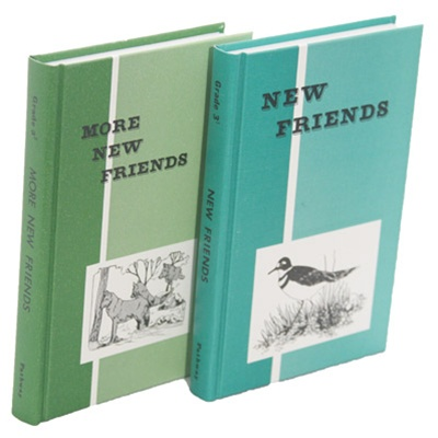 New Friends and More New Friends Reader set