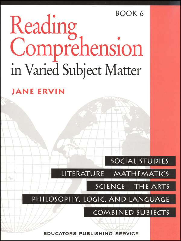 Reading Comprehension Book 6
