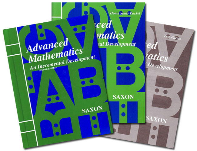 Saxon Advanced Math: Home Study Kit; 2nd edition