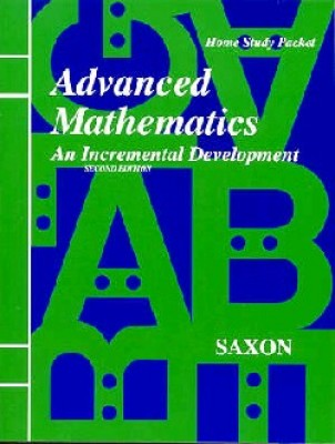 Saxon Advanced Math: Test & Answer Key; 2nd edition