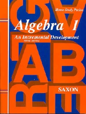 Saxon Algebra 1: Test & Answer Key; 3rd edition
