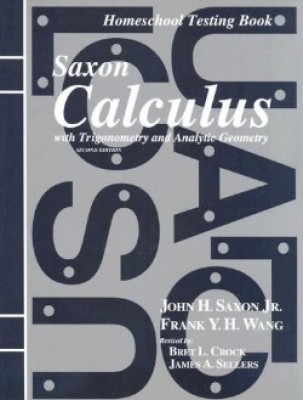 Saxon Calculus; 2nd edition: Tests only