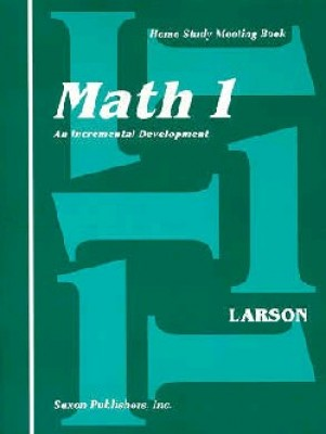 Saxon Math 1: Meeting Book only
