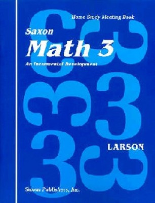 Saxon Math 3: Meeting Book