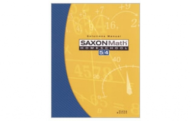 Saxon Math 54: Solutions Manual; 3rd edition