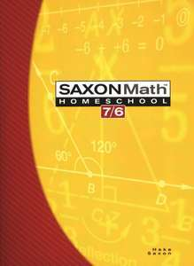 Saxon Math 76: Student Book only; 4th edition