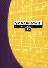 Saxon Math 87: Student Book only; 3rd edition