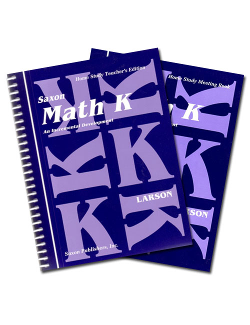 Saxon Math K: Home Study Kit