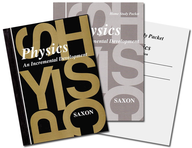 Saxon Physics: Home Study Kit