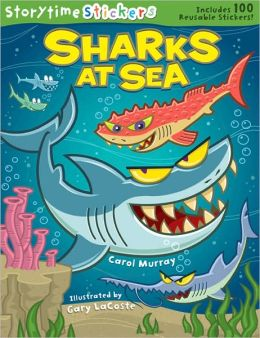 "Storytime Stickers, ""Sharks at Sea"""