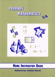 Primary Math 5A Home Instructor's Guide