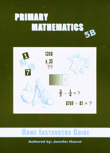 Primary Math 5B Home Instructor's Guide