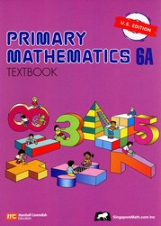 Primary Math 6A Textbook (Singapore)