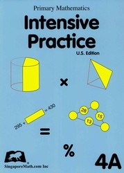 Primary Math 4A Intensive Practice (Singapore)