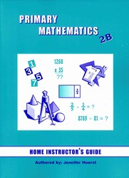 Primary Math 2B Home Instructor's Guide (Singapore)