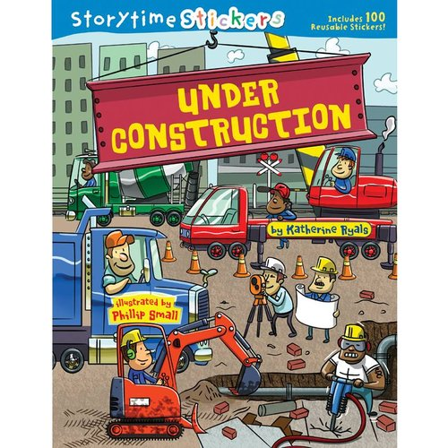 "Storytime Stickers, ""Under Construction"""