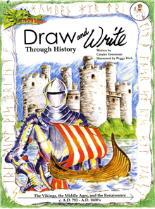 Draw and Write Through History: Vikings, Middle Ages...