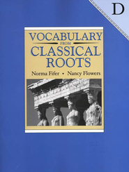 Vocabulary from Classical Roots D