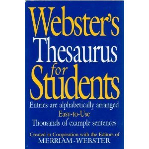 Webster's Thesaurus for Students