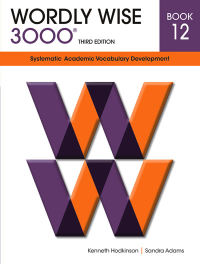Wordly Wise 3000 3rd edition Book 12