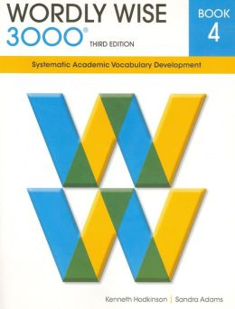 Wordly Wise 3000 3rd edition Book 4
