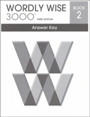 Wordly Wise 3000 3rd edition Book 2 Answer Key