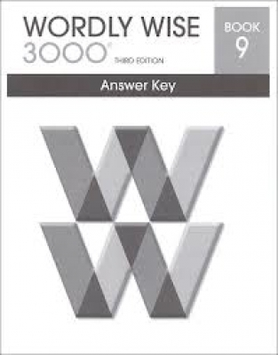 Wordly Wise 3000 3rd edition Book 9 Answer Key