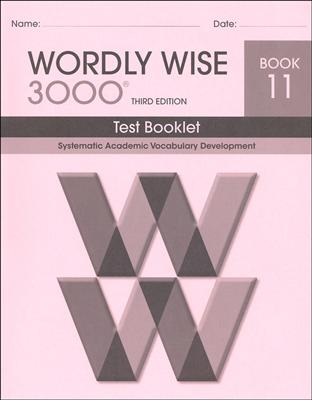 Wordly Wise 3000 3rd edition Book 11 Tests
