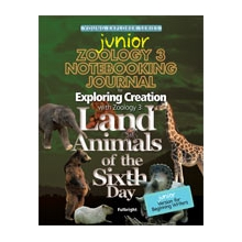 Apologia: Exploring Creation with Zoology 3 JUNIOR JOURNAL