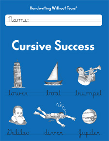 Handwriting Without Tears: Cursive Success