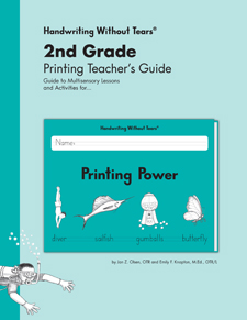Handwriting Without Tears: Printing Power Teacher's Edition