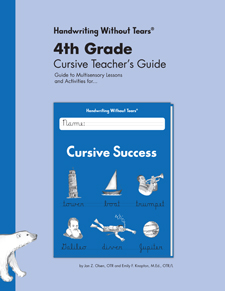 Handwriting Without Tears: Cursive Success Teacher's Guide