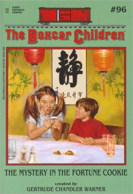 Boxcar Children #96: Mystery in the Fortune Cookie - Click Image to Close