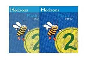 Horizons Math 2 - Books 1 and 2 Student Set