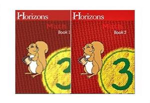 Horizons Math 3 Books 1 and 2 Student Set