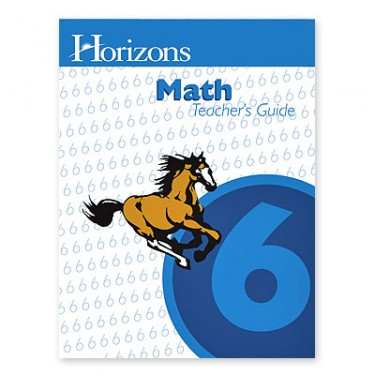 Horizons Math 6 Teacher's Guide