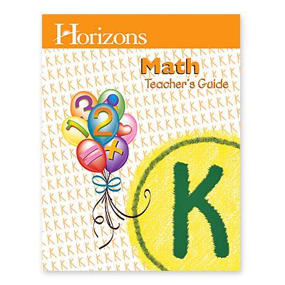 Horizons Math K Teacher's Guide