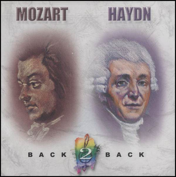 Mozart and Haydn CD