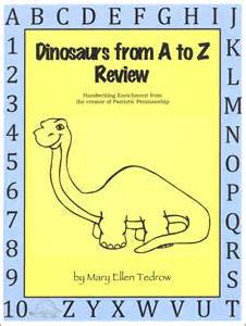 Patriotic Penmanship Dinosaur From A to Z Review