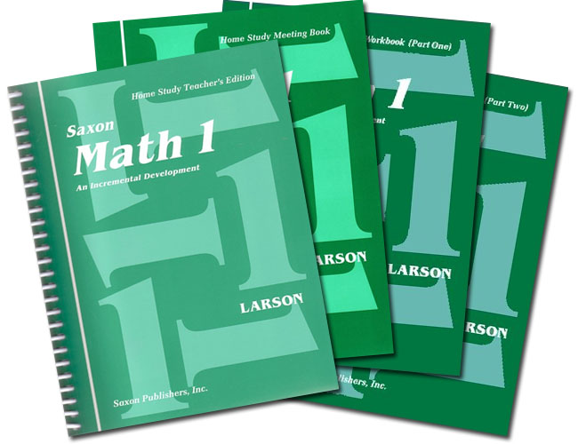 Saxon Math 1: Home Study Kit
